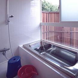 鎌倉の住宅_浴室