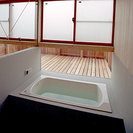 柏の住宅_浴室