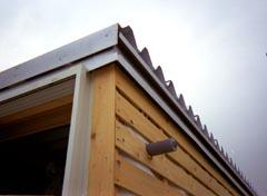 屋根端部おさまり