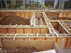 基礎立上コンクリート型枠